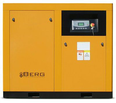 Винтовой компрессор BERG ВК-75-E с прямым приводом, c частотно-регулируемым преобразователем