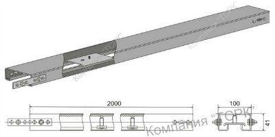 Короб КЛ-1 цинк