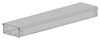 Короб ГК-80х60х2000мм (осн. 0,7мм цинк)
