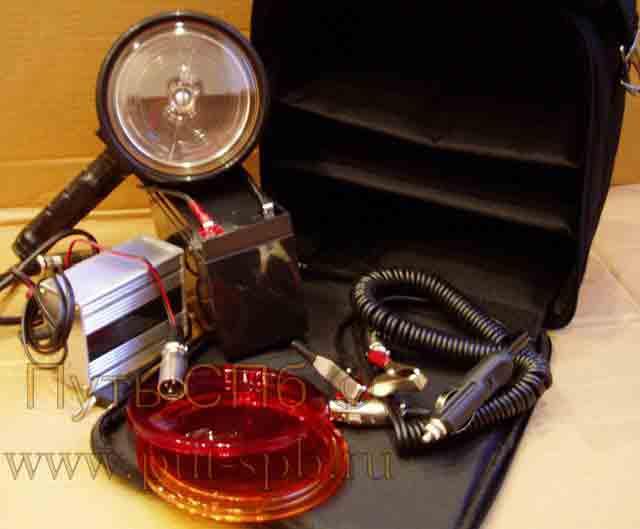 Прожектор ручной осветительно-сигнльный ПР-12 М