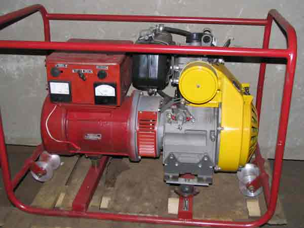 Сварочный агрегат АД4 Т230 СF-186 F