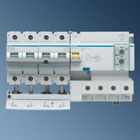 Автоматический выключатели фирм Нager CP484D 100А\300mA