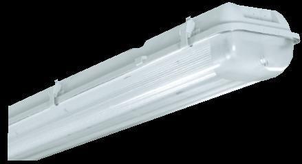 136 ARCTIC Трапециевидный светильник, корпус из усиленного стекловолокном полиэстера, рассеив-ль - ПММА,IP 65