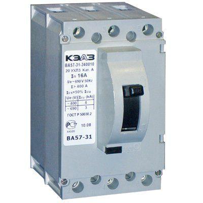 Выключатель автоматический ВА57Ф31-100А-1000-400AC-УХЛ3