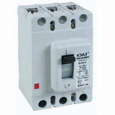 Выключатель автоматический ВА57-35-340010-63А-800-690AC-УХЛ3