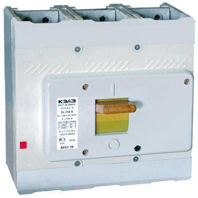 Выключатель автоматический ВА57-39-341810-630А-5000-690AC-НР230AC/220DC-УХЛ3