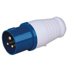 Вилка кабельная 023-32А-6h-220AC-2P+PE-IP44