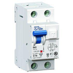 Автоматический выключатель дифференциального тока с защитой от сверхтоков OptiDin D63-22C16-A-УХЛ4 (2P, C16, 30mA)