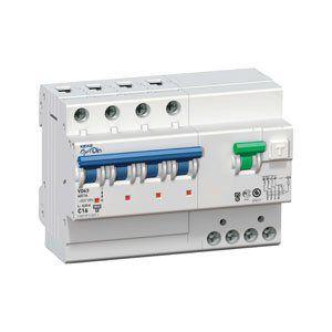 Автоматический выключатель дифференциального тока с защитой от сверхтоков OptiDin VD63-23C50-A-УХЛ4 (2P, C50, 100mA)