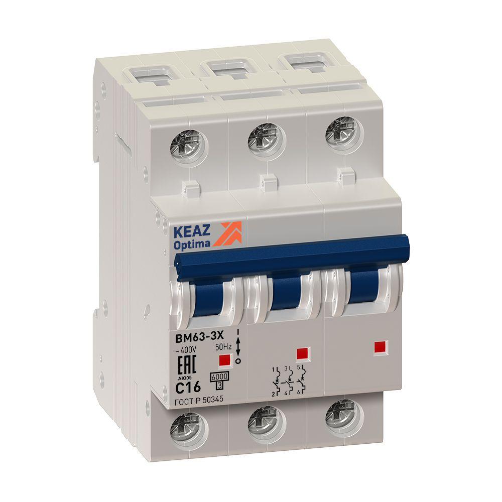 Выключатель нагрузки OptiDin BM63P-340-УХЛ3