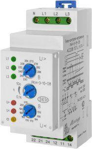 Реле контроля напряжения РКН-3-15-08 АС230В/АС400В УХЛ4 для сетей c нейтралью
