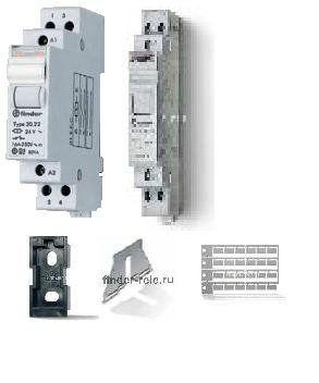 Модульное электромеханическое шаговое реле  (только оптовые поставки от 10 шт.) 20.24.8.008.4000