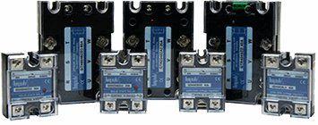 Трехфазные реверсивные твердотельные реле GTR2548ZD 25А , управление 10..30 V DC,480V AC