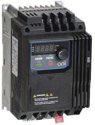 Преобразователь частоты M680 380В, 3Ф 5,5-7,5 kW 12-18А фирма ONI ( M680-33E055-075TIP20 )