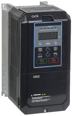 Преобразователь частоты K800 380В, 3Ф 7,5-11 kW 18 - 24А ( K800-33E075-11TSIP20 )