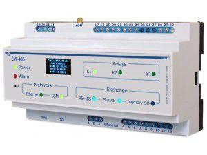 Контроллер интерфейса MODBUS EM-486