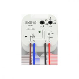 Светорегулятор для LED ламп и регулируемых экономичных ламп  SMR-M