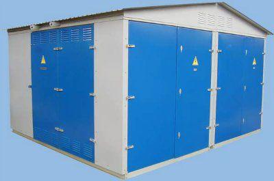 Комплектная трансформаторная подстанция для городских электрических цепей КТПГС 1000/10(6)/0,4 (Отходящие линии 4х250А, 4х400А)