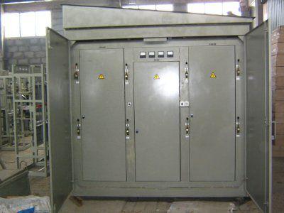 Комплектная трансформаторная подстанция для городских электрических цепей КТПГС 250/10(6)/0,4 (Отходящие линии 3х250А, 2х400А)