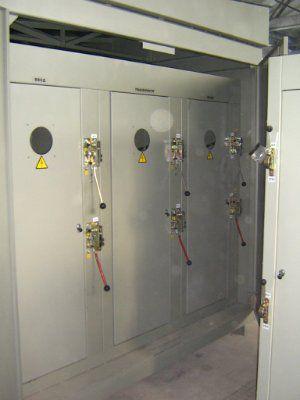 Комплектная трансформаторная подстанция для городских электрических цепей КТПГС 400/10(6)/0,4 (Отходящие линии 2х100А, 2х250А, 2х400А)