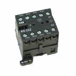 АВВ Миниконтактор K6-31-Z 3A (400В AC3) катушка 220В АС GJH1211001R8310