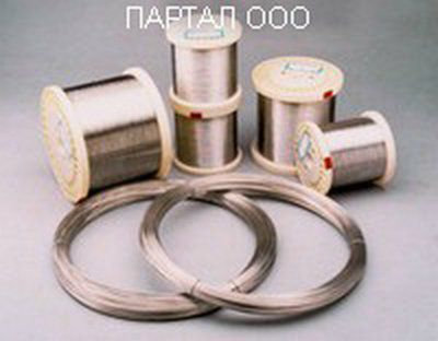 Проволока Алюмель НМцАК 2-2-1 от 0,3 до 5,0 мм