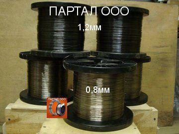 Сварочная проволока ПАНЧ-11, сварка чугуна, наплавка. - 0,8 мм