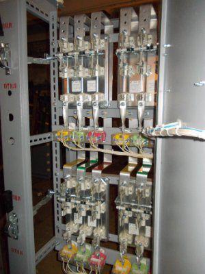 Панель серии ЩО70-1-03 4 учёта без счётчиков