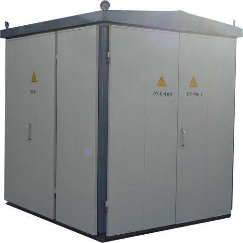 Комплектная трансформаторная подстанция (КТП-ТК)400,630 кВа тупиковая кабельный ввод с ВНА от