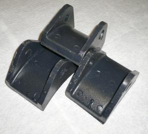 Колодка тормозная в сборе с накладой ТКГ-200