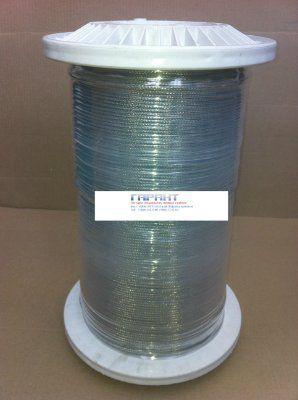 Провод темоэлектродный нагревостойкий экранированный ПТНЭ-ХА 2х0,5
