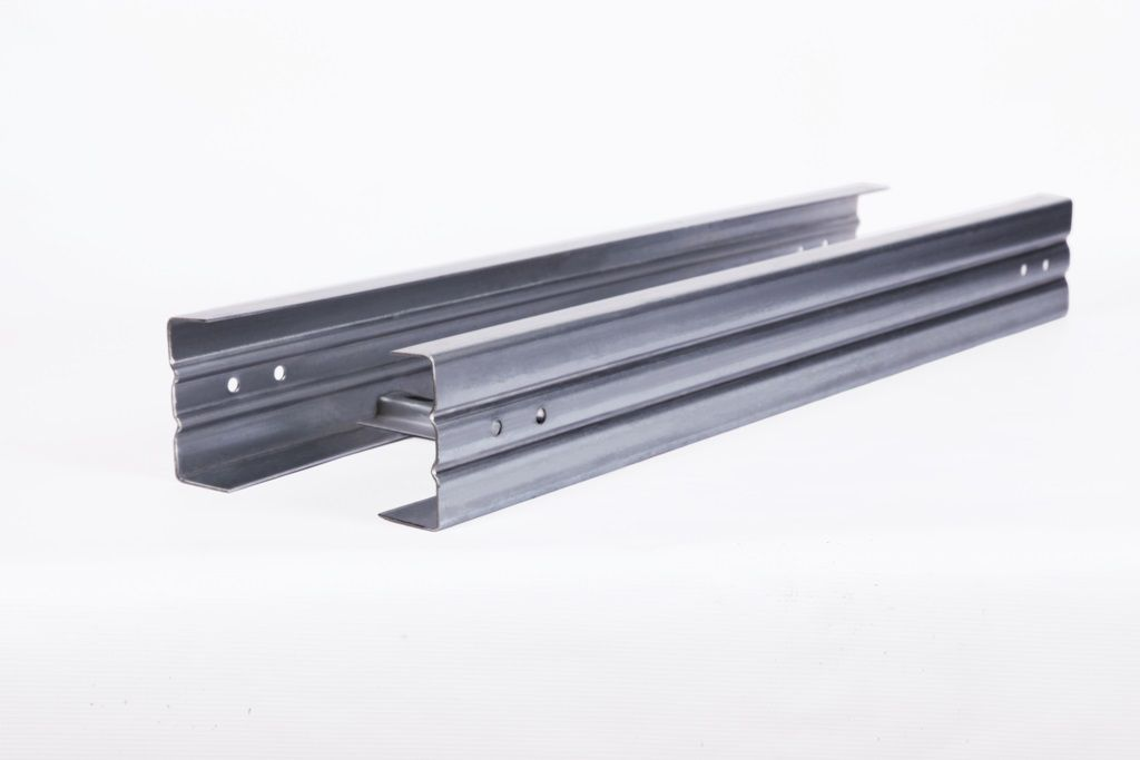 Лоток лестничный усиленный ЛЛу40 400х100 S2.0 L6000