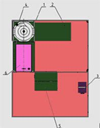 Стенд для испытания асинхронных электродвигателей мощностью до 100 квт после ремонта РИФЖ 441249.002