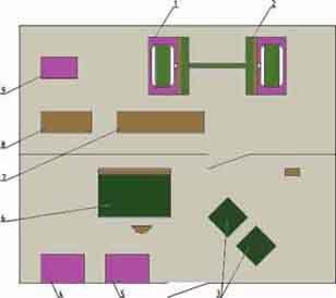 Стенд для испытания синхронных машин и машин постоянного тока мощностью до 100 квт РИФЖ 441249.004