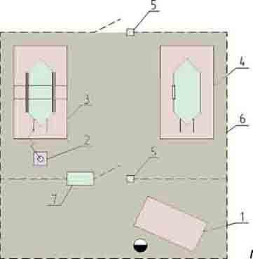 Стенд для испытания секций РИФЖ 441311.002