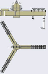 Траверса для подъема обмоток трансформаторов РИФЖ 301534.016