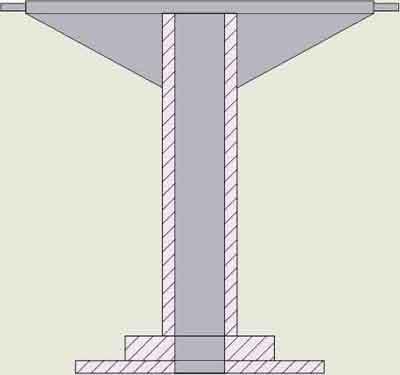 Стол дисковый поворотный РИФЖ 440115.003