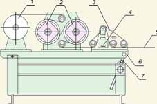 Устройство для натяжения стеклоленты при наложении бандажа РИФЖ 442218.001
