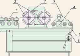 Устройство для натяжения проволоки при наложении бандажа РИФЖ 442218.002