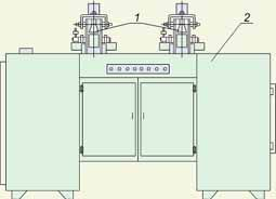 Станок для обкатки гильзовой изоляции секций обмоток статоров РИФЖ 442218.004