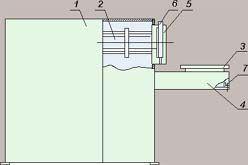 Станок для снятия подшипников с роторов электродвигателей РИФЖ 442314.003
