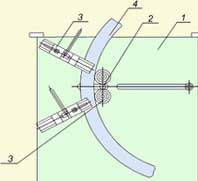 Станок для обработки колец из электрокартона РИФЖ 042211.001