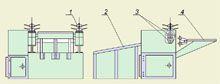 Станок для гофрирования электрокартона РИФЖ 043155.003
