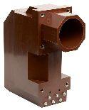Трансформатор тока измерительный литой проходной типа ТЛП-10-4 на 10 кВ