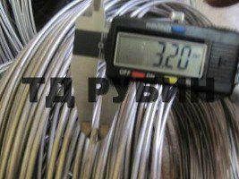 Проволока нихром Х20Н80 ф 3.5 мм