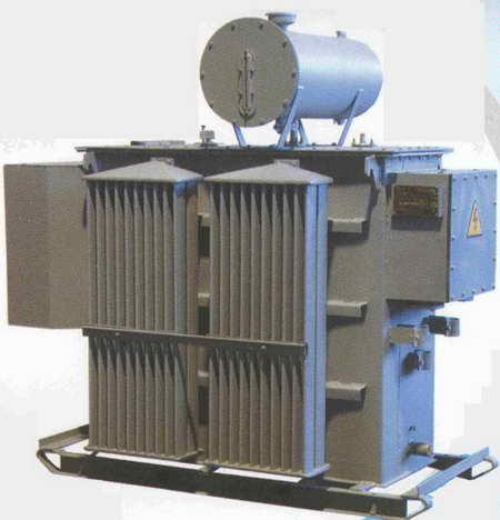 Трансформаторы масляные серии ТМЭ мощностью от 400 до 1600 кВА на напряжение до 10 кВ с радиаторными баками.