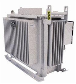Трансформаторы масляные серии ТМБГ, ТМЭГ, ТМФГ мощностью от 400 до 1600 кВА на напряжение до 10 кВ с радиаторными баками.