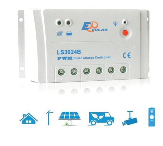 LS 3024B 30A 12/24V контроллер солнечный EPSolar