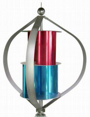 Ветрогенератор (1м/с) вертикальный магнитная левитация MAGLEV 600 Вт