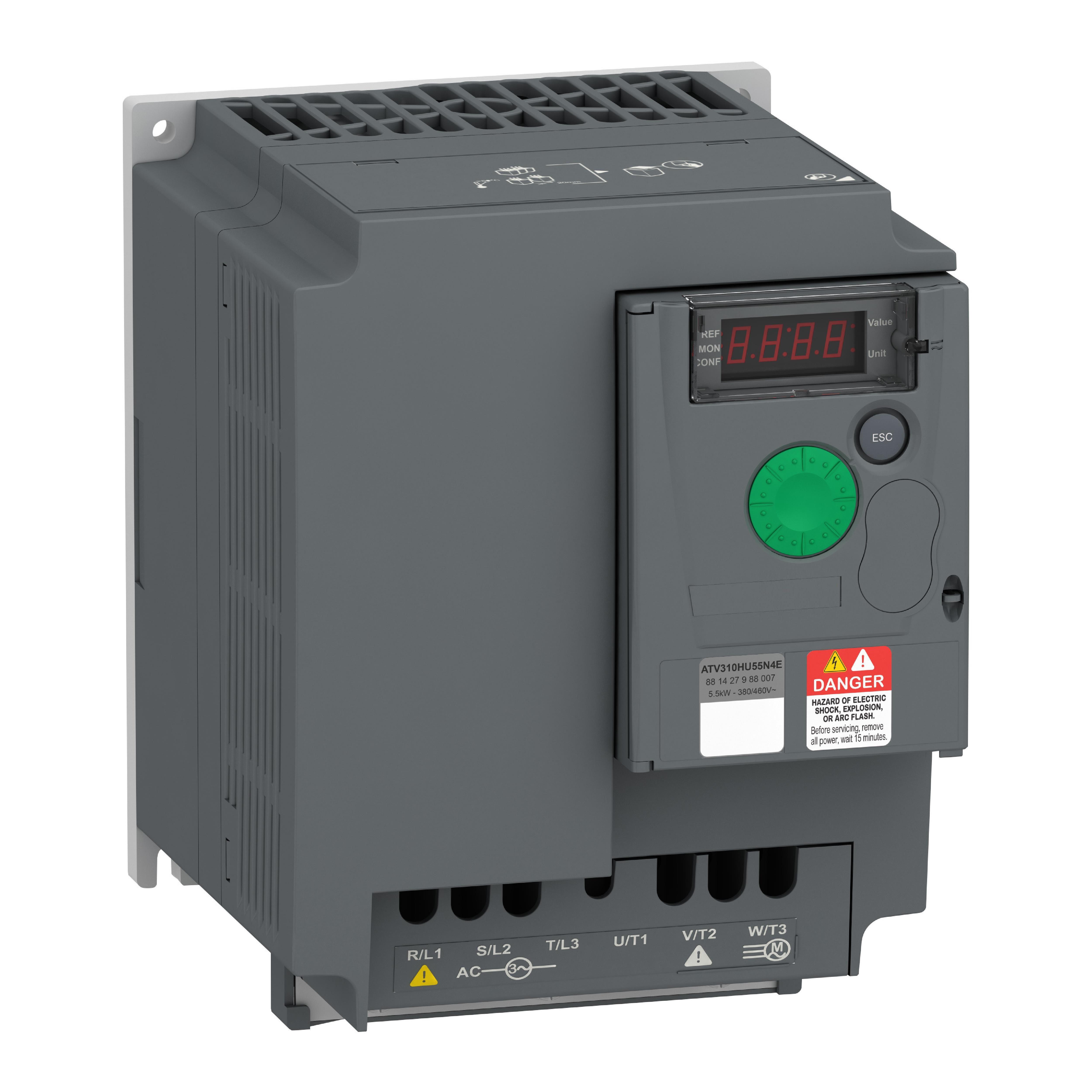 Частотный преобразователь 0,55 - 200 кВт   3-ф 380В